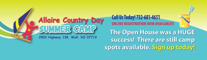 Allaire Country Day Camp Open House