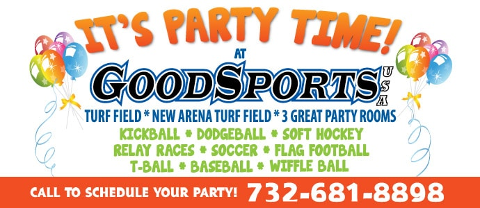 Children Birthday Parties at GoodSports USA